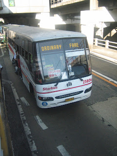 Ordinary bus in Manila