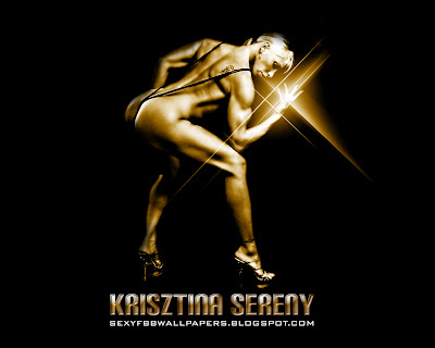 Krisztina Sereny 1280 by 1024 wallpaper