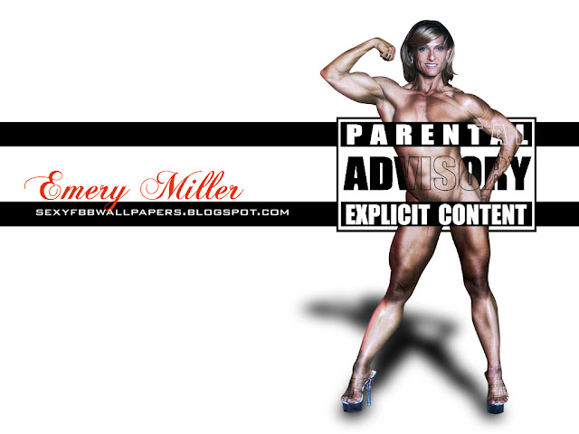 Bodybuilder Emery Miller Explicit Content Wallpaper