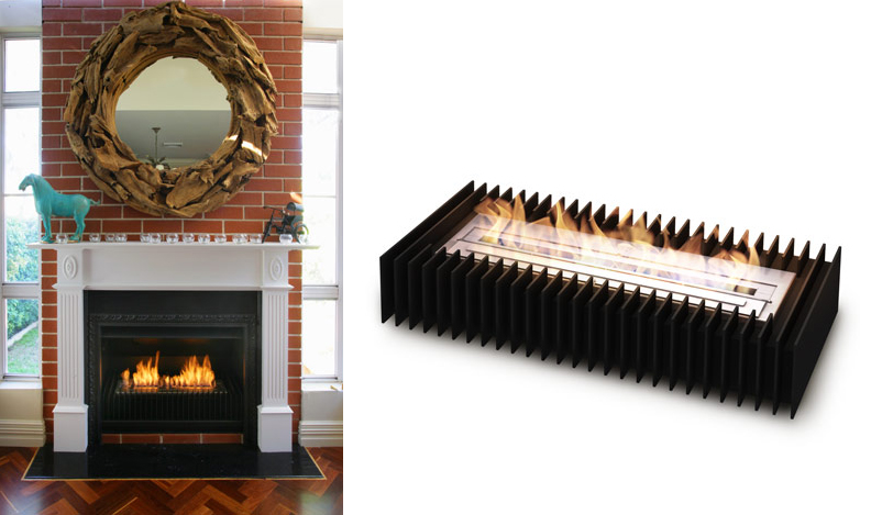 HIP HOSTESS NYC: eco Smart Fire: the instant fireplace
