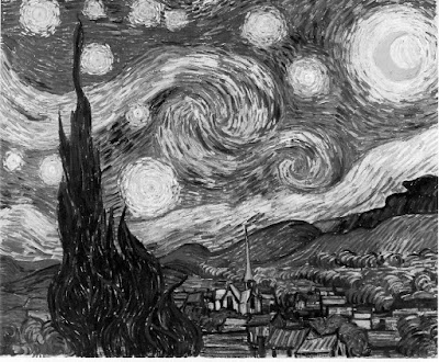in Van Gogh's Starry Night