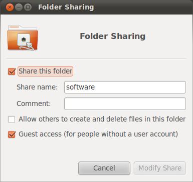 how to create shared folder in windows 7