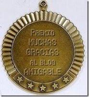 Premio Blog Amigable (2 veces!)