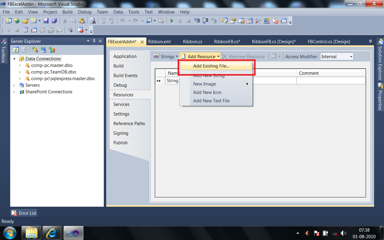 Vb Net Add Excel File As Resource - import excel file to
