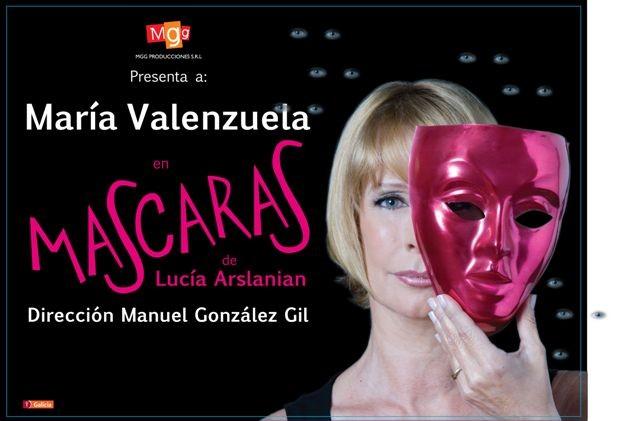 """El martes 4 """"Máscaras"""" con María Valenzuela"""
