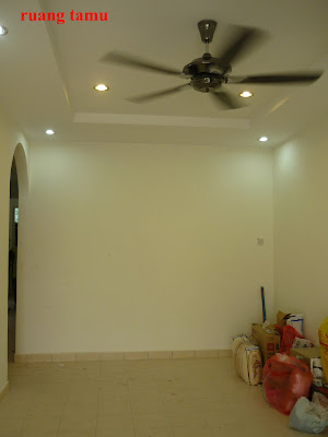 Plaster Siling Simple Jelampu Pulak Downlight Kaler Warm Night Day