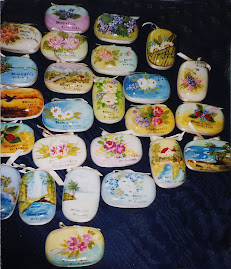 Sabonetes pintados