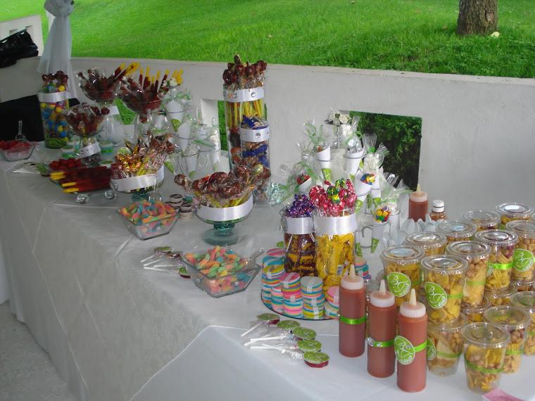 mesa de postres