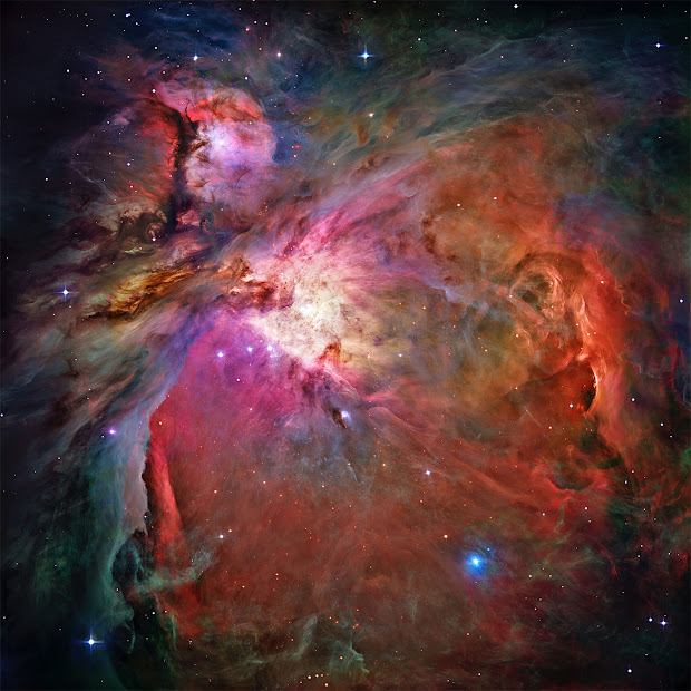 Hubble's sharpest image of the Orion Nebula!