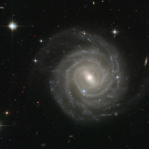 Hubble spies Supernova SN 2004ef in Spiral Galaxy UGC 12158