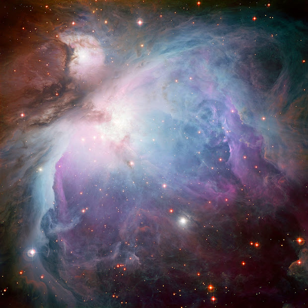 New image of M42 by ESO's MPG/ESO 2.2-meter telescope