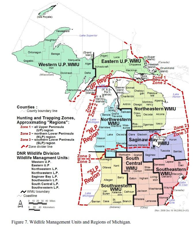 Michigan Hunting Report Deer Check Summary As Of November 22