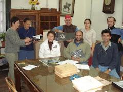 equipos de labor orgullosos de nuestro logro, HISTORIA Y FUTURO II ES UNA REALIDAD....