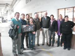 Junto a Nelson Uribe y Enrique Gaucher, Susana, Estela, Florinda, Tito, Milka, Rosamarie y AnaLaura
