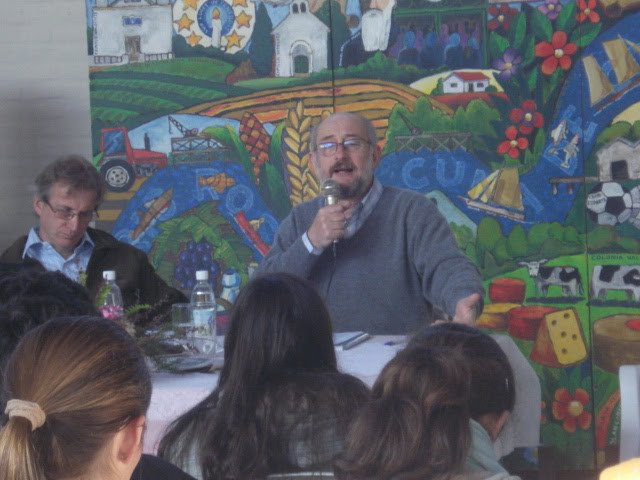 AS.SOC.JAVIER MARSIGLIA, apertura del seminario DESTINO JOVENES EN VALDENSE, 7 junio 2010