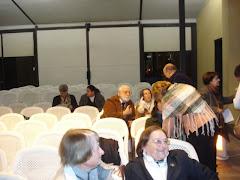 Prof. Carlos Mendaña, Renzo Pi Hugarte, Violeta Frache, Gladys Chiqui Ricca, Jacquelinne Prochet...