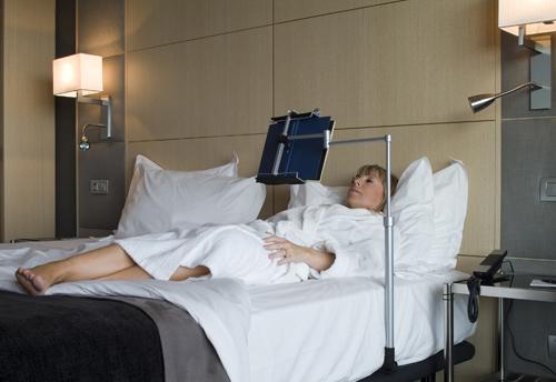 Ortopedia clot novedad atril de lectura para cama butaca - Luz para leer en la cama ...