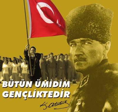 19 Mayıs Atatürk'ü Anma Genclik Ve Spor Bayraminiz Kutlu Olsun