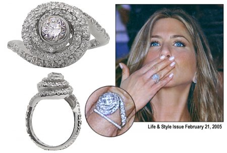 Jennifer Aniston Rock Star. Is flaunting a rock star the