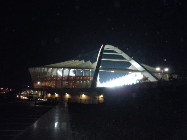 Stadium at night