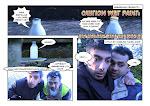 The Caution Wet Pant Comic Strip!