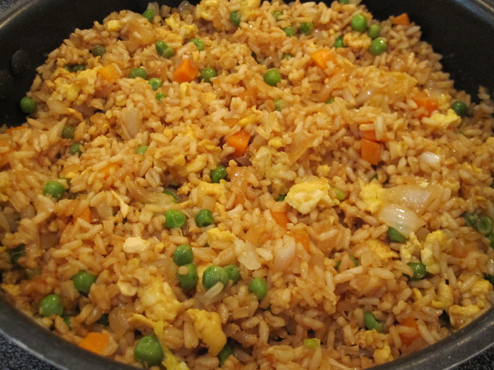 how to add chicken int the fried rice