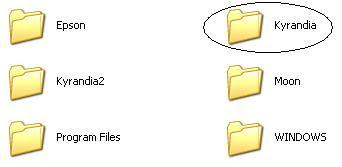 Legend of Kyrandia PC game folder