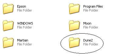 Dune 2 game folder