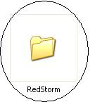 Red Storm Rising game folder