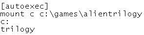 Editing Autoexec commands again