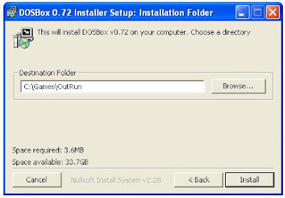Dosbox installer
