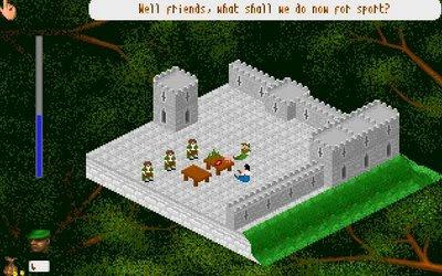 The Adventures of Robin Hood PC game screenshot