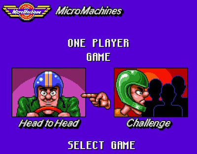 Micro Machines game screenshot