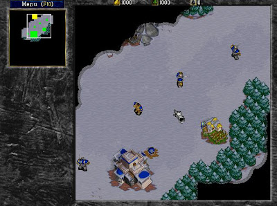 Warcraft 2 screen shot