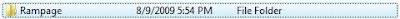 Rampage PC game folder