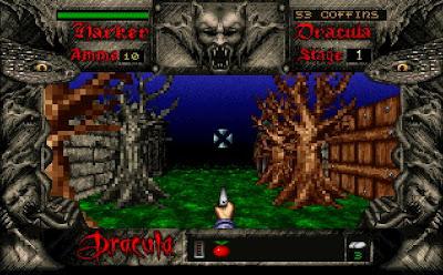 Bram Stokers Dracula PC game screenshot