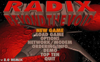 Radix game screenshot