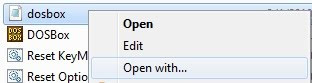 Editing the config file