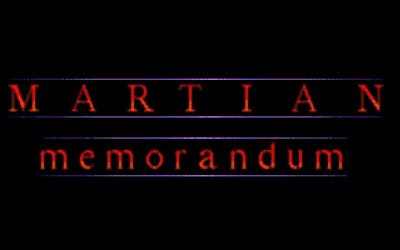 Martian Memorandum