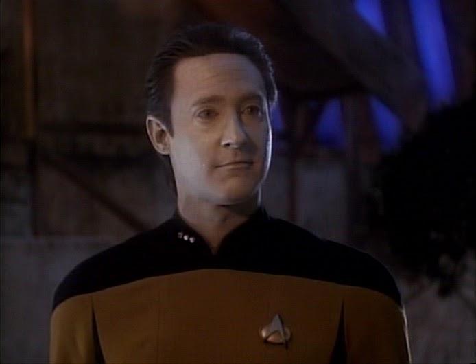 Speaking, Star trek episode no adults