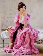 I love this gorgeous extremely pink dress
