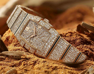 Omega Quadrella Mini High Jewellery