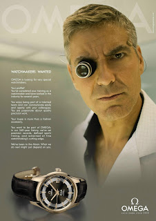 George Clooney - Watchmakers wanted - Omega