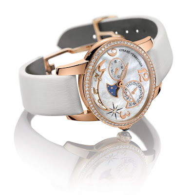 Girard-Perregaux Cat's Eye Annual and Zodiac Calendars
