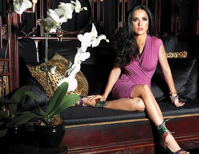 <br />Salma Hayek for InStyle April 2009<br />