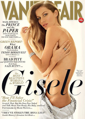 Жизель Будхен - Vanity Fair Magazine - май 2009