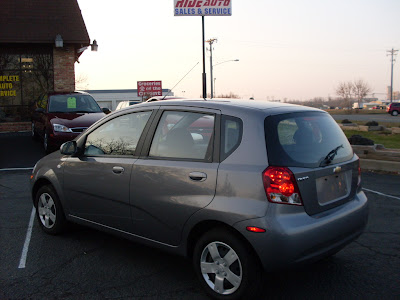 Ride Auto: 2006 Chevy Aveo Hatchback