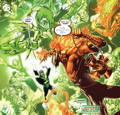 Lanterna Verde #22