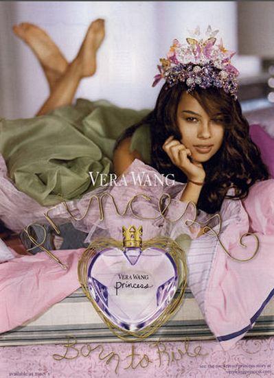 vera wang princess advert. vera wang princess