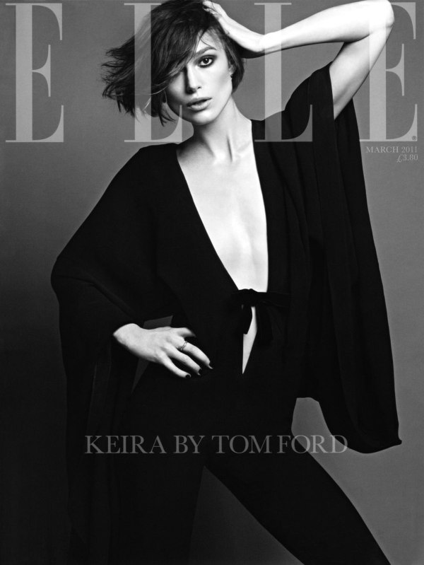 Keira Knightley wears exclusively Tom Ford Spring/Summer 2011 designs in
